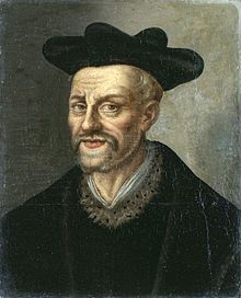 "Francois Rabelais, French Renaissance writer, doctor, monk and Greek scholar. His last words were, ""I go to seek a Great Perhaps."""