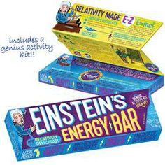 Einstein's Energy Bar