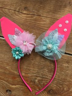Little Bunny Ears for Easter Soda, Ears, Bunny, Hair Accessories, Mint, Easter, Design, Fashion, Peppermint