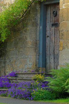 Stanton, Gloucestershire, Cotswolds - Cottage door