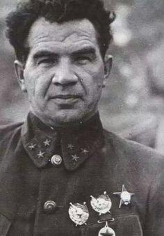 Vasily Chuikov, Soviet commander during the Battle of Stalingrad