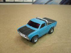 Afx Slot Cars, Hot Wheels Cars, Ho Scale, Car Stuff, Pickup Trucks, Aurora, Ebay, Toys, Blue