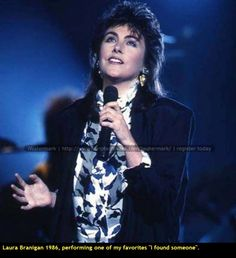 """Laura Branigan 1986, singing """"I found someone"""" from """"Solid Gold"""". Enjoy a really """"Solid Gold"""" smash heat, with a marvelous singer who left us too early. https://www.youtube.com/watch?v=mkJahlyfdcU"""