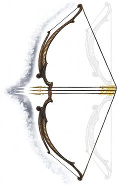 Elven Long Bow Anime Weapons, Fantasy Weapons, Armes Concept, Survival Bow, Survival Weapons, Survival Tools, Survival Knife, Bow Art, Armas Ninja