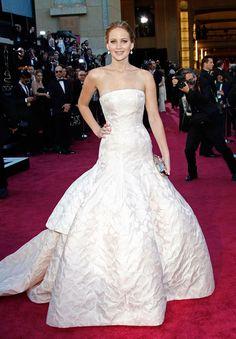 Jennifer Lawrence/Dior Haute Couture