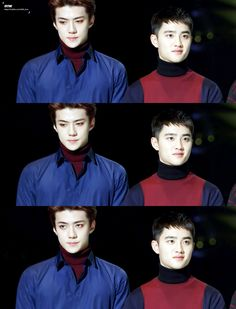 kyungsoo is so squishy >.< and sehun is on fire omg