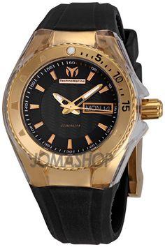 Technomarine Cruise Star Black Dial Ladies Watch 110037