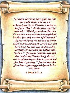2 John 7-11