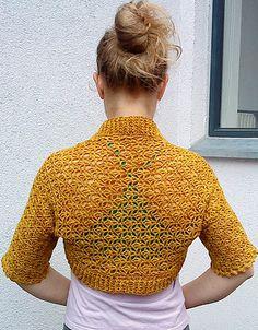 Ravelry: Filigree Lace Shrug pattern by Adrienne Lash
