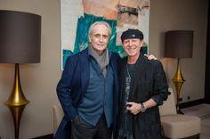 With Klaus Meine