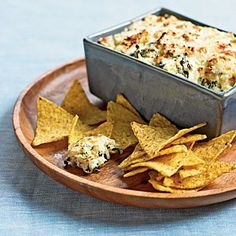 Spinach-and-Artichoke Dip | Cookinglight.com