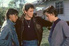 Johnny Cade, Dallas Winston, and Ponyboy Curtis