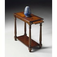 Butler Specialty 5017024 Chairside Table - Plantation Cherry Finish