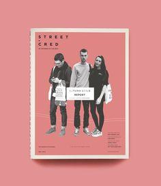 Street-Cred / Magazine on Editorial Design Served