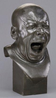 Les bustes grimaçants de Franz Xaver Messerschmidt  art