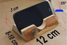 telefon tutucu ölçüleri (ham)/ dims of cellphone stand (uncoated)