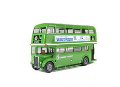 AEC RT3 Diecast Model Bus by EFE 34105 This AEC RT3 Diecast Model Bus is Green and features working wheels. It is made by EFE and is 1:76 scale (approx. 12cm / 4.7in long). #EFE #ModelBus #AEC #MiniModelBuses