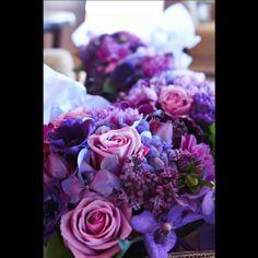 The Flower Shop | Purple Floral Themes