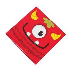 Mini Monster Luncheon Napkins - OrientalTrading.com