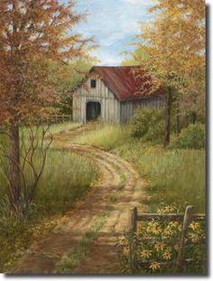 Roadside Barn Digital Print