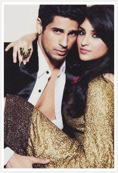 Siddharth Malhotra and Parineeti Chopra