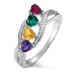 210 Best Mothers Day Rings Images In 2019 Mothers Day