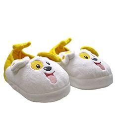 Look at this Bubble Puppy Slippers on #zulily today!