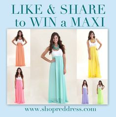 Pin it to win it maxi!! http://www.reddressboutique.com/whats-new.html  Love this Maxi and LOOOVE Red Dress!!