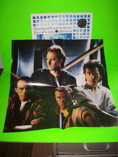 """ULTRAVOX Dancing With Tears In My Eyes Remix GateFold 12"""" EP w/ POSTER SynthPop #Electronica #Ultravox #SynthPop"""