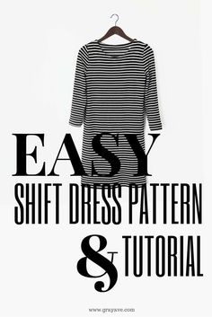 I'm convinced shift dresses should be the new jeans. A solid shift dress pattern can be used to fit any occasion by just altering the details (the material, the sleeves, the size, etc., etc., etc.) of the dress. The original shift dress that this tutorial was based on was for a dinner my husband and I hosted the Friday before our wedding. Since then, I've posted many tutorials with variations of this pattern. Here is a swing dress my sister made, here is a maxi dress I made, and here...
