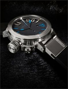 U-Boat Classico 47mm 1001 Meter Blue Limited Edition