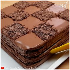 Fun Baking Recipes, Easy Cake Recipes, Sweet Recipes, Chocolat Recipe, Flourless Chocolate Cakes, Chocolate Cake Video, Delicious Desserts, Yummy Food, Indian Dessert Recipes