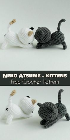Neko Atsume – Amigurumi Sweet Cats [Free Pattern] | Your Crochet