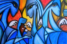 Three Blue Angels