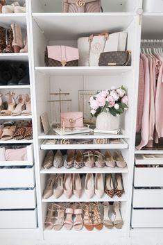 Closet + Office Tour - Lace & Lashes - Closet + Office Tour – Lace & Lashes , Check more at - Ikea Pax Wardrobe, Wardrobe Room, Closet Bedroom, Bedroom Decor, Ikea Pax Closet, Ikea Bedroom, Ikea Closet System, Bedroom Green, Master Closet