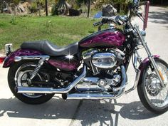 Harley Davidson... looking awesome in pink. Oh my....I would love to have this.