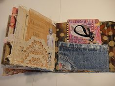 Anything that inspires you can be part of your sketchbook - love this.