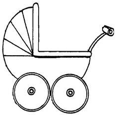 kleurplaat kinderwagen - Google zoeken
