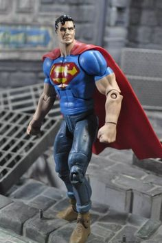 N52 Superman V2 (DC Universe) Custom Action Figure