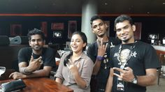 Celebrity Spotting: Tollywood beauty, #NithyaMenon visited us for a 'Hard Rock' lunch at Hard Rock Cafe Hyderabad today!
