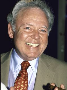 """[John] Carroll O'Connor -- (8/2/1924-6/21/2001). American Actor, Comedian, Producer & Director. He portrayed Archie Bunker on TV Series """"All in the Family"""" and """"Archie Bunker's Place"""", Chief William 'Bill' Gillespie on """"In the Heat of the Night"""". Movies -- """"For Love of Ivy"""" as Frank Austin, """"Kelly's Heroes"""" as Major General Colt, """"Law and Disorder"""" as Willie, """"Point Blank"""" as Brewster, """"Return to Me"""" as Marty O'Reilly. He died from a Heart Attack brought on by Diabetes, age  76."""