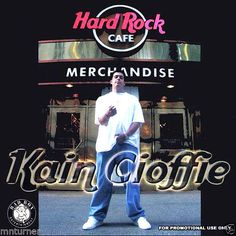 Kain Cioffie Special Edition The Hard Rock Cafe Mixtape Album CD Compilation OOP