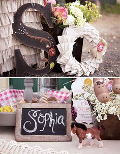 Coral & Lavender Pony Party {with Vintage Flair!}