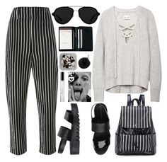 """273. Beetlejuice"" by ass-sass-in ❤ liked on Polyvore featuring Isabel Marant, Jeffrey Campbell, 3.1 Phillip Lim, Royce Leather, Michael Kors and Bobbi Brown Cosmetics"