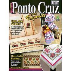 Revista Ponto Cruz com Vagonite Ed. Liberato nº132