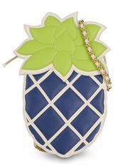 Blue Pineapple?!?!?! Moschino Online Store - Handbags - Medium leather bag