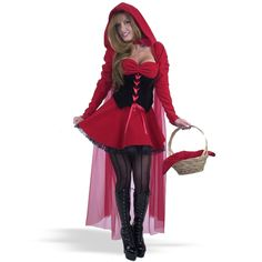 Velvet Riding Hood  Adult from Buycostumes.com