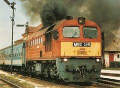 m62 Japan Train, Train Journey, Train Station, Diesel, Vehicles, Railings, Train, Hungary, Diesel Fuel