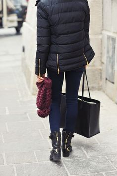 chic and warm in the city from Make Life Easier blog