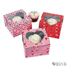 Valentines Day Cupcake Boxes -- Read more reviews of the product by visiting the link on the image. (This is an affiliate link) #DecoratingTools